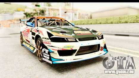 D1GP Nissan Silvia RC926 Toyo Tires für GTA San Andreas