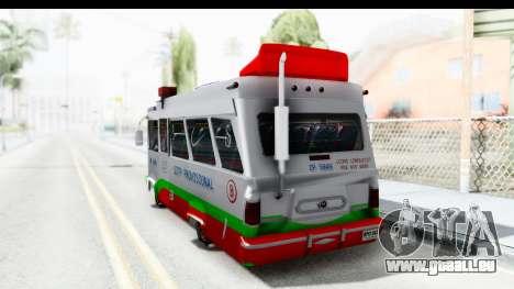 Dodge 300 Microbus pour GTA San Andreas laissé vue