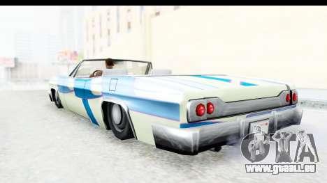 Blade New PJ pour GTA San Andreas vue intérieure