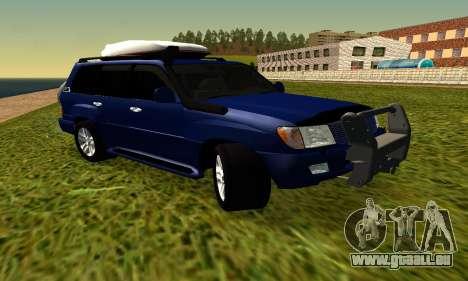 Toyota Land Cruiser 100vx2 für GTA San Andreas