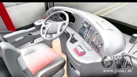 Mercedes-Benz Travego 2016 pour GTA San Andreas vue intérieure