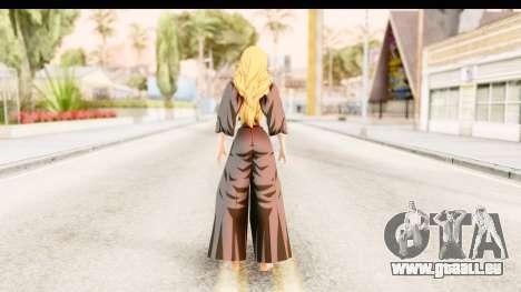 Bleach - Rangiku für GTA San Andreas dritten Screenshot