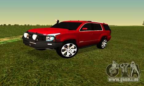 GMG Yukon 2015 für GTA San Andreas