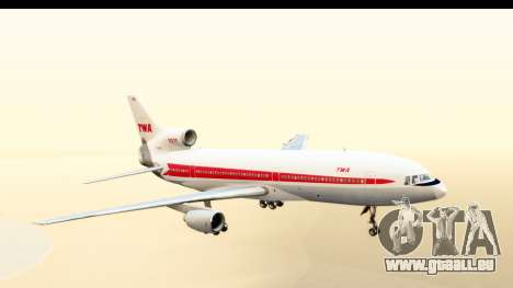 Lockheed L-1011-100 TriStar Trans World Airlines für GTA San Andreas