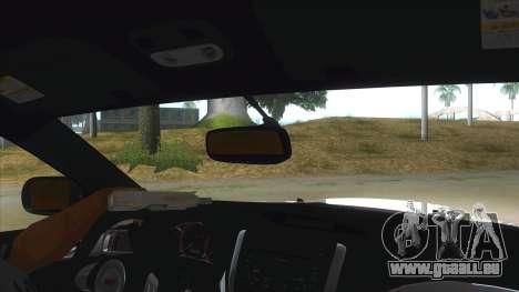 2008 Subaru WRX Widebody L3D für GTA San Andreas Innenansicht