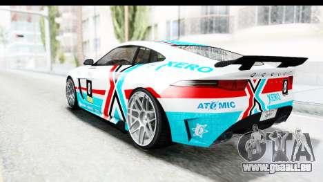 GTA 5 Ocelot Lynx IVF für GTA San Andreas Motor