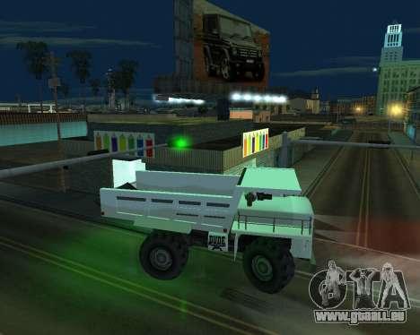 La peinture du garage pour GTA San Andreas quatrième écran