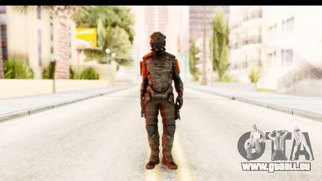 Homefront The Revolution - KPA v2 Camo für GTA San Andreas zweiten Screenshot