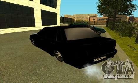 2115 pour GTA San Andreas sur la vue arrière gauche