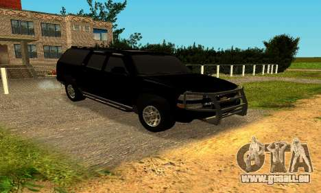 Chevrolet Colorado für GTA San Andreas linke Ansicht