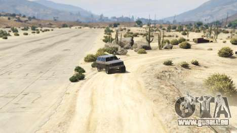 Off-roading Rancher für GTA 5