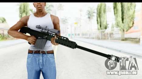 GTA 5 Vom Feuer Heavy Sniper pour GTA San Andreas troisième écran
