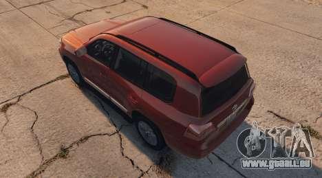 GTA 5 Toyota Land Cruiser 2013 vue latérale gauche