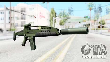 H&K XM8 Silenced pour GTA San Andreas