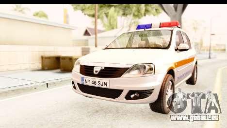 Dacia Logan Facelift Ambulanta v2 für GTA San Andreas