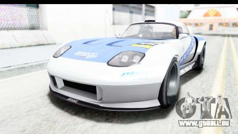 GTA 5 Bravado Banshee 900R Mip Map pour GTA San Andreas salon