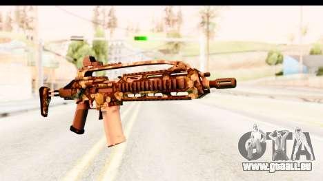 SCAR-LK Hex Camo Green für GTA San Andreas