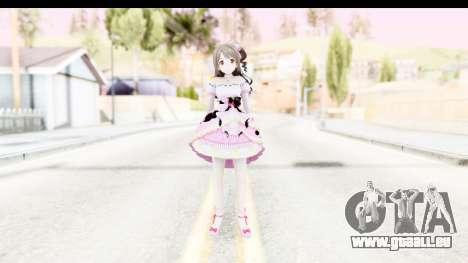 CGSS - Uzuki Peacefull Dance Rilaneko pour GTA San Andreas deuxième écran