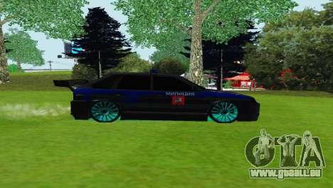 VAZ 2114 DPS pour GTA San Andreas laissé vue