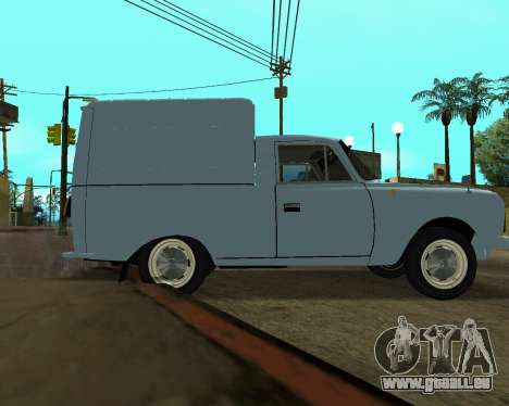 Moskvich 2715 Arménien pour GTA San Andreas moteur