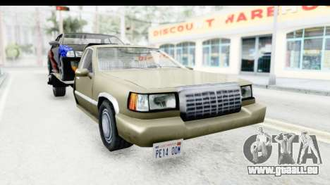 Limousine Auto Transporter für GTA San Andreas