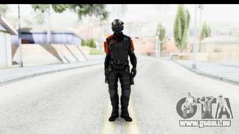 Homefront The Revolution - KPA v5 Black für GTA San Andreas zweiten Screenshot