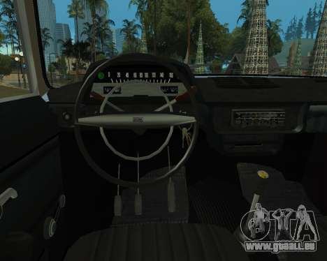 Moskvich 2715 Arménien pour GTA San Andreas sur la vue arrière gauche