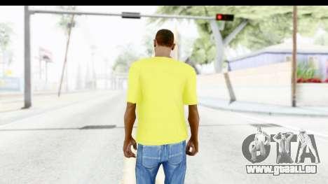 Adidas Thor T-Shirt für GTA San Andreas dritten Screenshot
