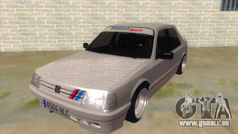 Peugeot 309 Rallye pour GTA San Andreas