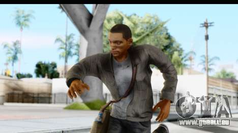 I Am Legend - Will Smith v2 Fixed pour GTA San Andreas