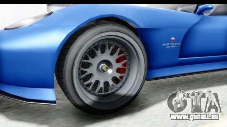 GTA 5 Bravado Banshee 900R Mip Map pour GTA San Andreas vue arrière