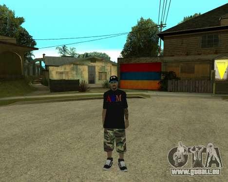 New Armenian Skin pour GTA San Andreas