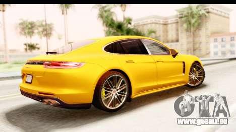Porsche Panamera 4S 2017 v3 für GTA San Andreas linke Ansicht