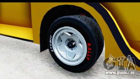 GTA 5 Obey Omnis IVF pour GTA San Andreas vue arrière