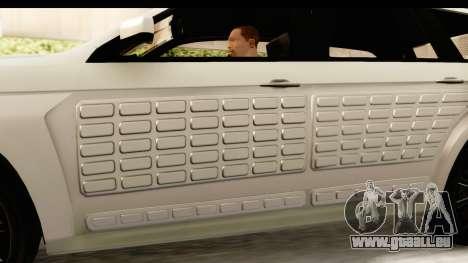 GTA 5 Benefactor XLS SA Style für GTA San Andreas Innen