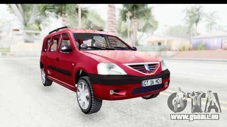 Dacia Logan MCV pour GTA San Andreas