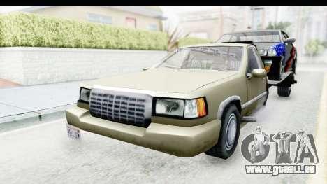 Limousine Auto Transporter pour GTA San Andreas vue de droite