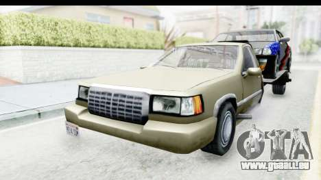 Limousine Auto Transporter für GTA San Andreas rechten Ansicht
