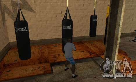 LonsDale Boxsack für GTA San Andreas dritten Screenshot