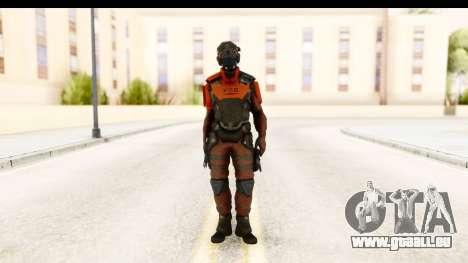Homefront The Revolution - KPA v5 Red für GTA San Andreas zweiten Screenshot