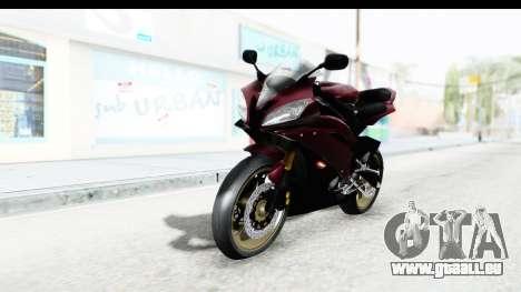 Yamaha YZF-R6 2008 für GTA San Andreas