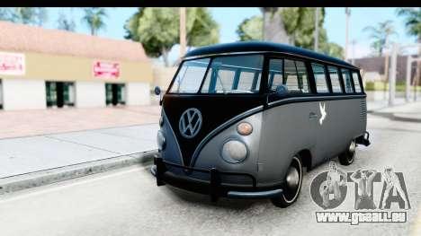 Volkswagen Transporter T1 Deluxe Bus pour GTA San Andreas