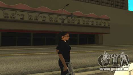 La peau d'un agent de sexe féminin pour GTA San Andreas deuxième écran