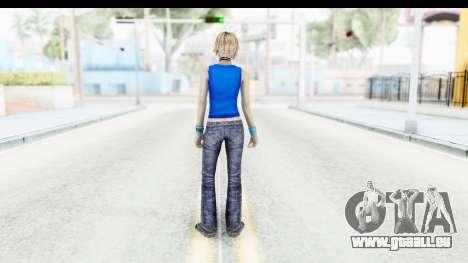 Silent Hill 3 - Heather Sporty Super Girl pour GTA San Andreas troisième écran