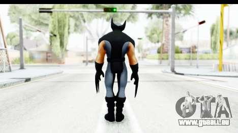 Marvel Heroes - Wolverine Xforce pour GTA San Andreas troisième écran