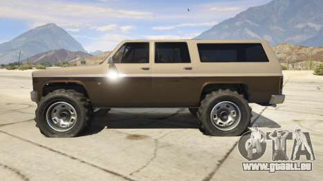 Off-roading Rancher pour GTA 5