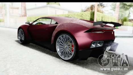 GTA 5 Pegassi Reaper v2 IVF für GTA San Andreas zurück linke Ansicht