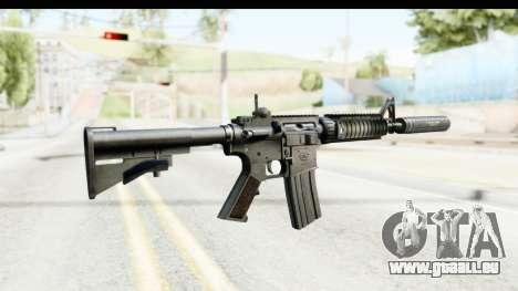 AR-15 Silenced für GTA San Andreas zweiten Screenshot