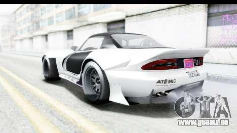 GTA 5 Bravado Banshee 900R Mip Map pour GTA San Andreas vue de dessous