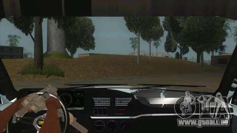 Peugeot 309 Rallye pour GTA San Andreas vue intérieure